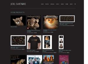 Joel Sartore Store